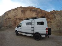 Aluminess Review: Sprinter Van Roof Rack & Storage ...