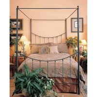 Bosun Wrought Iron Canopy Bed | BEDROOM IDEAS 214 ...