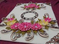 quilling wall clock sneak pic   quilling   Pinterest ...