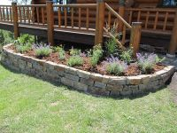 Stone Flower Beds | ... walls, patios, steps, stepping ...