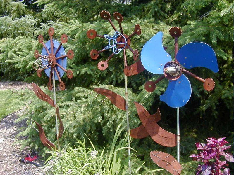 Fan Blade Idea Pictures Landscaping Ideas & Garden Ideas Art In