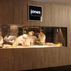 Restaurant Kitchen Design Kingston Brass Faucet Landini Associates  Jones The Grocer Food Retail