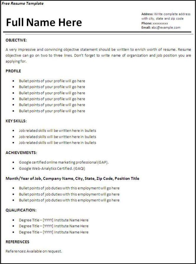 job application resume template resume sample