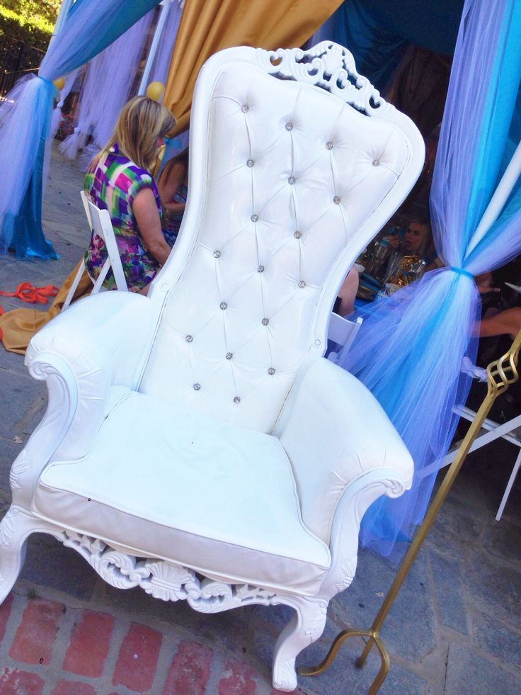 Royal Baby Shower Chair cakepinscom  bestie  Pinterest