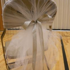 Wedding Chair Covers With Bows Swing Lebanon Decorating Burlap Tablecloths Hideous