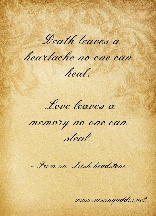 Cool Irish Headstone Quote About Life And Love... Best Quotes Life .