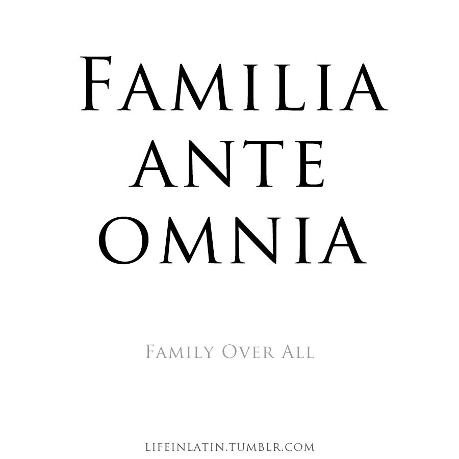 Quotes In Latin Latin Love And Family Quotes Picture