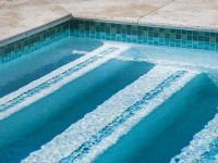 pool step tile designs
