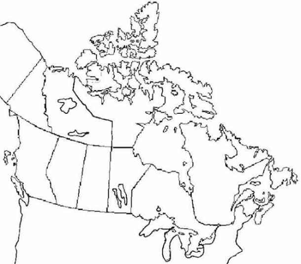 Practice Maps : Provinces and Territories of Canada