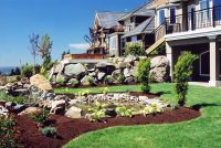 landscapes ideas sloped front yard landscaping ideas small ...