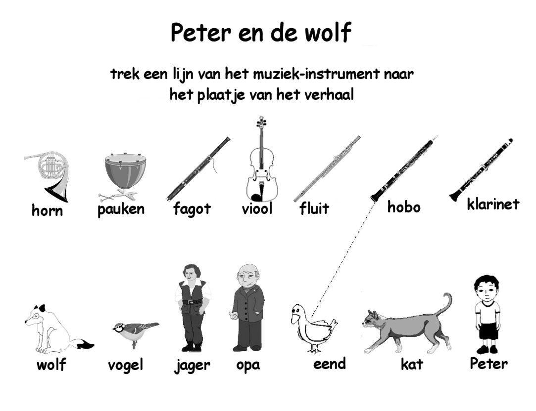 worksheet. Peter And The Wolf Worksheet. Worksheet Fun