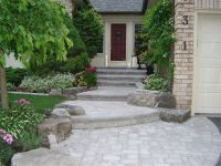 landscaping large front yards | Front Entrance Landscaping ...