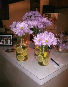 My first apartment warming party flower decorations also house housewarming pinterest rh