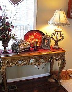Melissa   heart and home red bird tray vignette also table arrangement rh pinterest