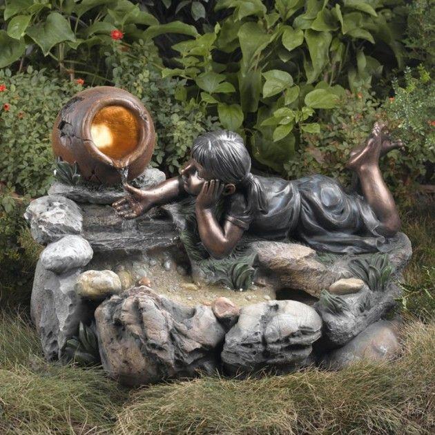 Nature Whispering Of Outdoor Garden Water Fountains Garden Water