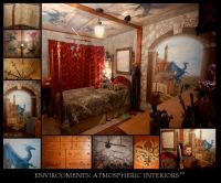 Medieval Themed Castle Bedroom with Dragon Motif | My ...