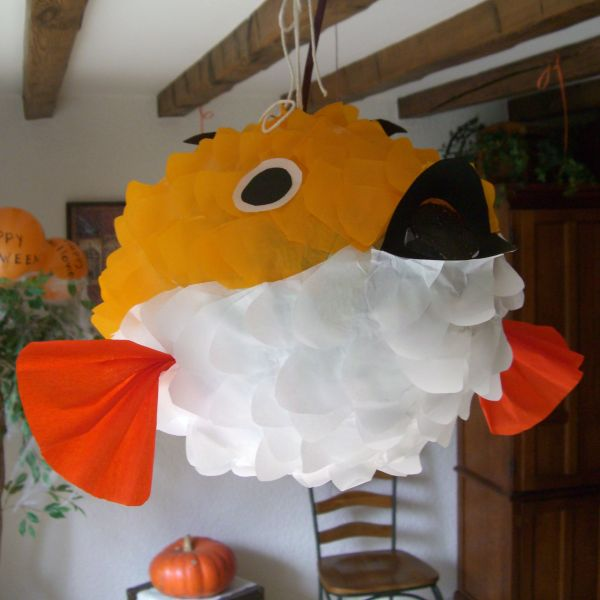 Fish Pinata Pinatas 60th Birthday Party