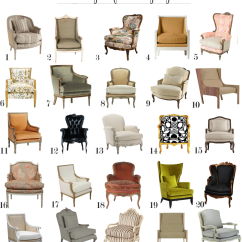 Dining Chair Styles Chart Metal Outdoor Chairs Australia A Bergere For Every Style | The Anatomy Of Design Pinterest Upholstery, Room And Interiors