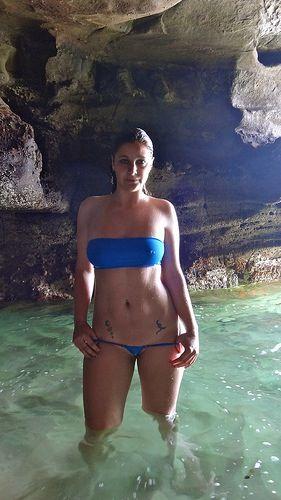 Wicked Weasel electric blue Matt Lycra bandeaumicrominimus bikini  HOT  Pinterest
