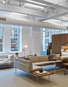Herman miller fashions  towering presence in new york city   flatiron district also rh pinterest