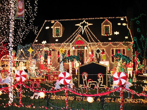 Wild Christmas Home Decorations Christmas Lights On Houses