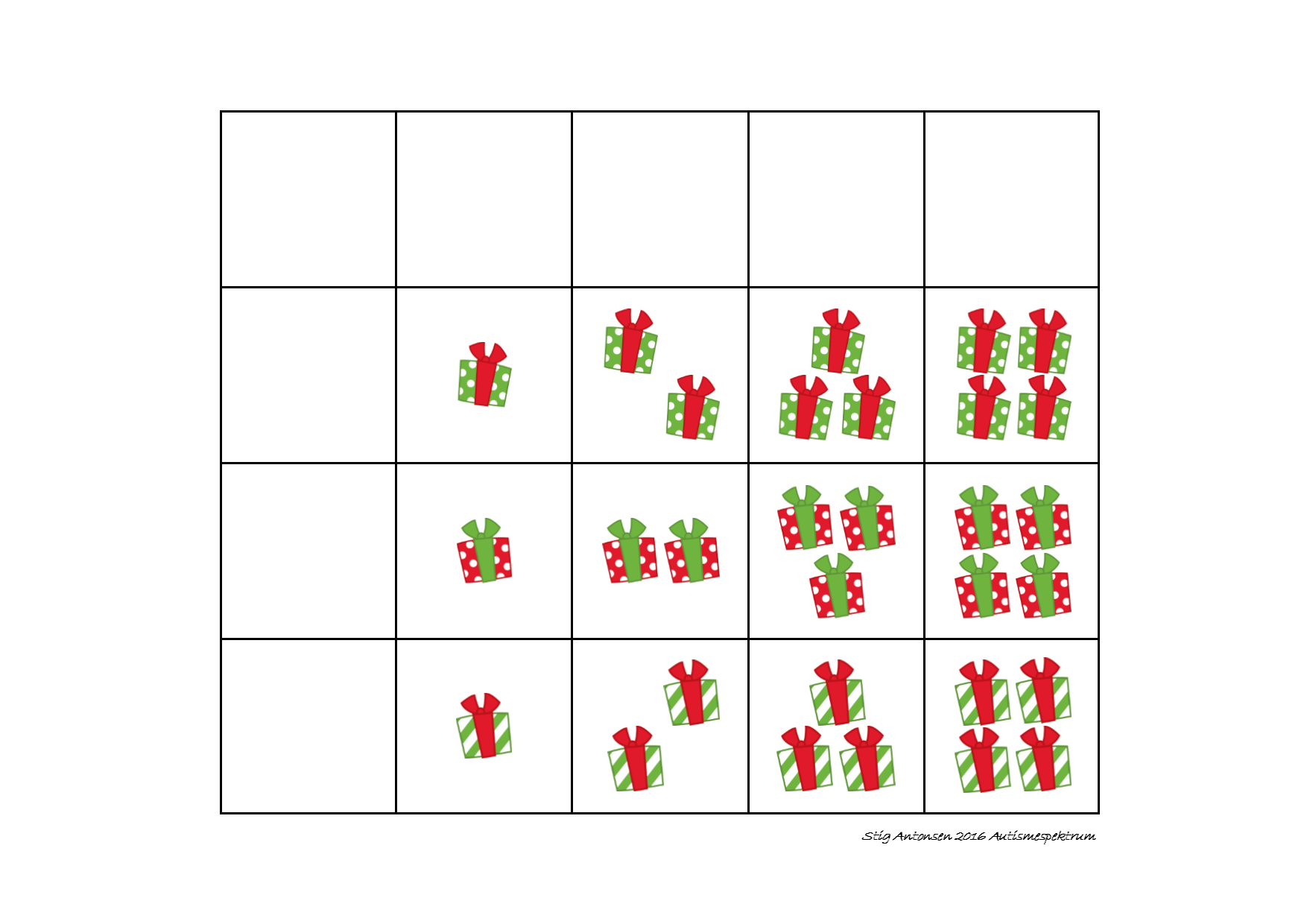Tiles For The Matrix Counting Game Find The Belonging