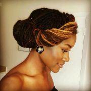 wedding hairstyles locs ideas
