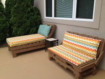 Pallet Patio Furniture Easy Stack Pallets Nail