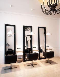 Hairdresser interior design in bytom poland archi group salon fryzjerski  bytomiu also coha beauty desing hair rh pinterest