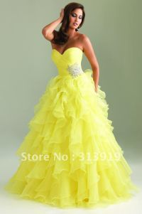 Puffy Prom Dresses on Pinterest | Punjabi Wedding Dresses ...
