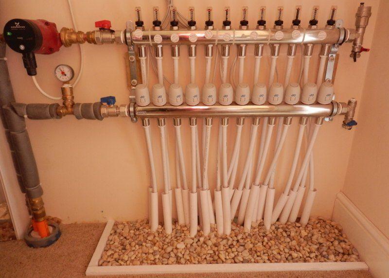 Radiant Floor Heating Heat Pump On Underfloor Heating Wiring Diagram