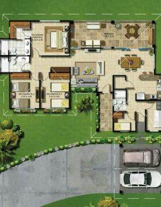 modern house plans samples  home also elegant minor changes for proportion needed casas de planta baja rh pinterest