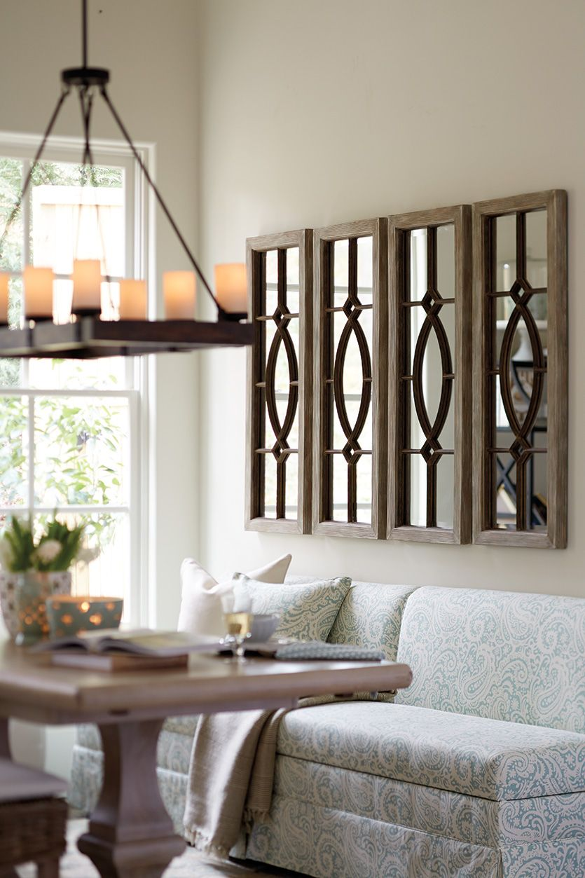 Decorating With Architectural Mirrors Decorating Room