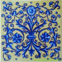 Hand painted Italian Ceramic Tiles | Tiles | Pinterest