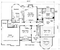 First floor master bedroom home plans - Home design and style