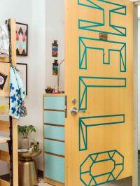 13 Budget Dorm Room Ideas | The doors, Room decorating ...