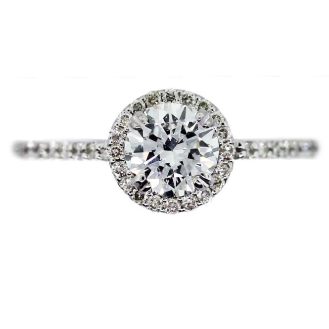 5 Reasons Why Halo Engagement Rings Rock Cardiff