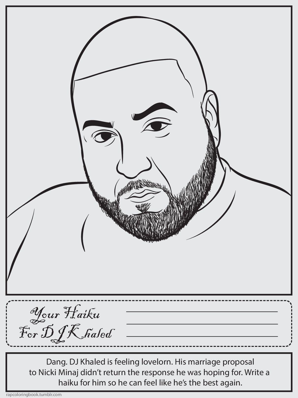 Bun B S Jumbo Coloring And Rap Activity Tumblr Photo