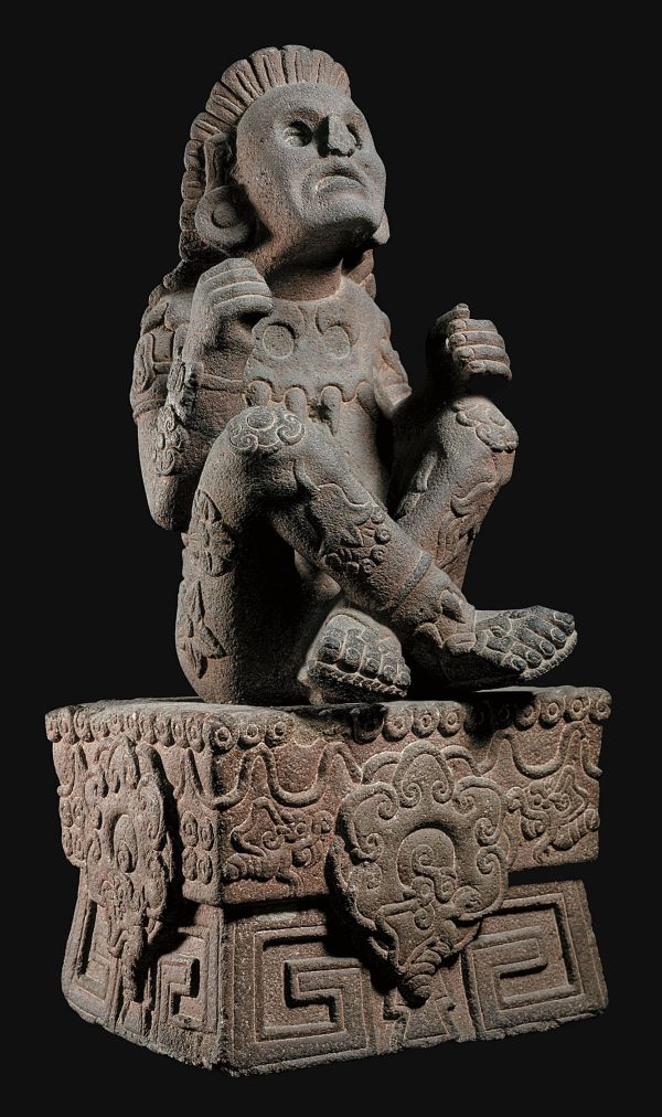 Xochipilli - Aztec God Of Flowers Music Art. Arts