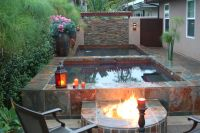 minus the pool and make fire pit rectangular
