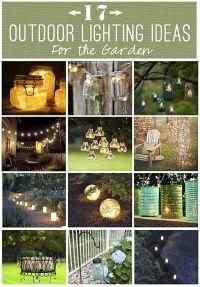 outdoor_lighting_ideas | Lampen | Pinterest | Outdoor ...