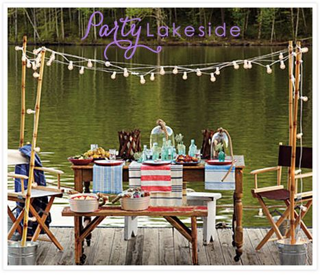 Nothing Says Summer Like The Lake And Even Better A Lakeside Party