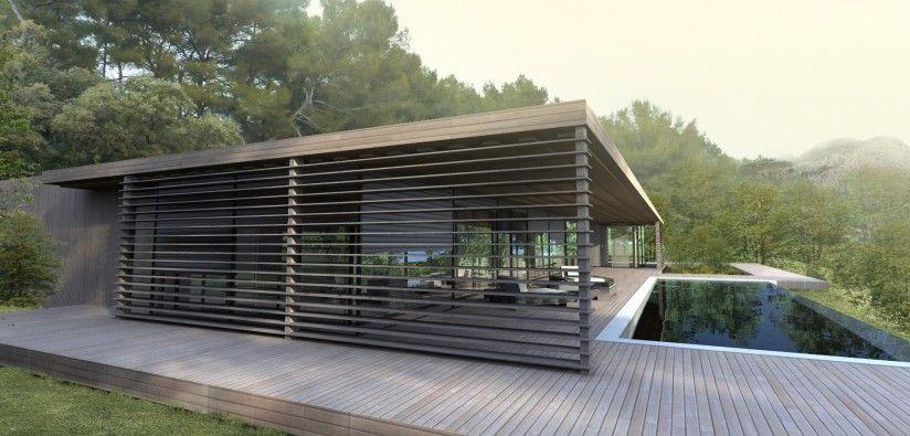 Rsultats de recherche dimages pour  terrasse piscine contemporaine   maison  Pinterest