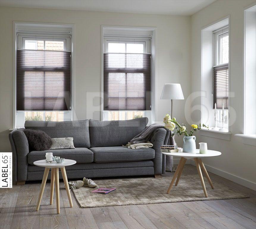 Kies een kleur plisse gordijn dat past bij uw interieur
