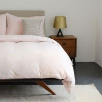 Vintage Wash Dusty Pink Bed Linen