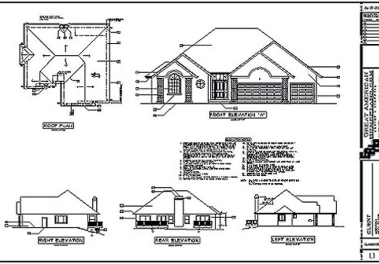 Prepare a simple building foundation plan by using autocad