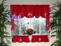 Holiday+Curtains+Valances | Christmas Kitchen Curtain b2 ...