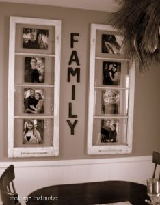 Diy home decorating ideas decorate your with personality showing through of course some decor projects   want to do this also up cycle old windows into frames upcycling pinterest bathroom rh