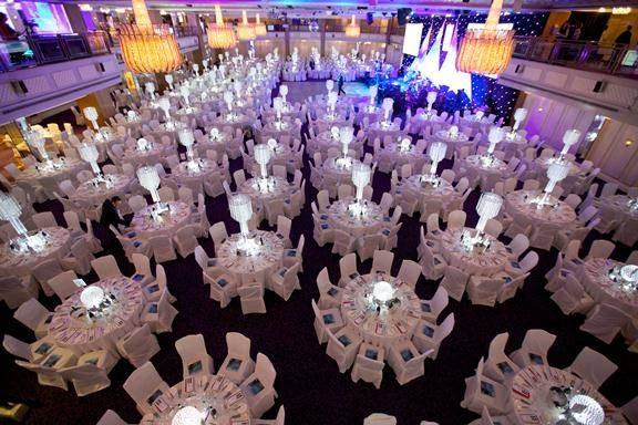 Crystal Table Chandelier Centrepieces Grosvenor House