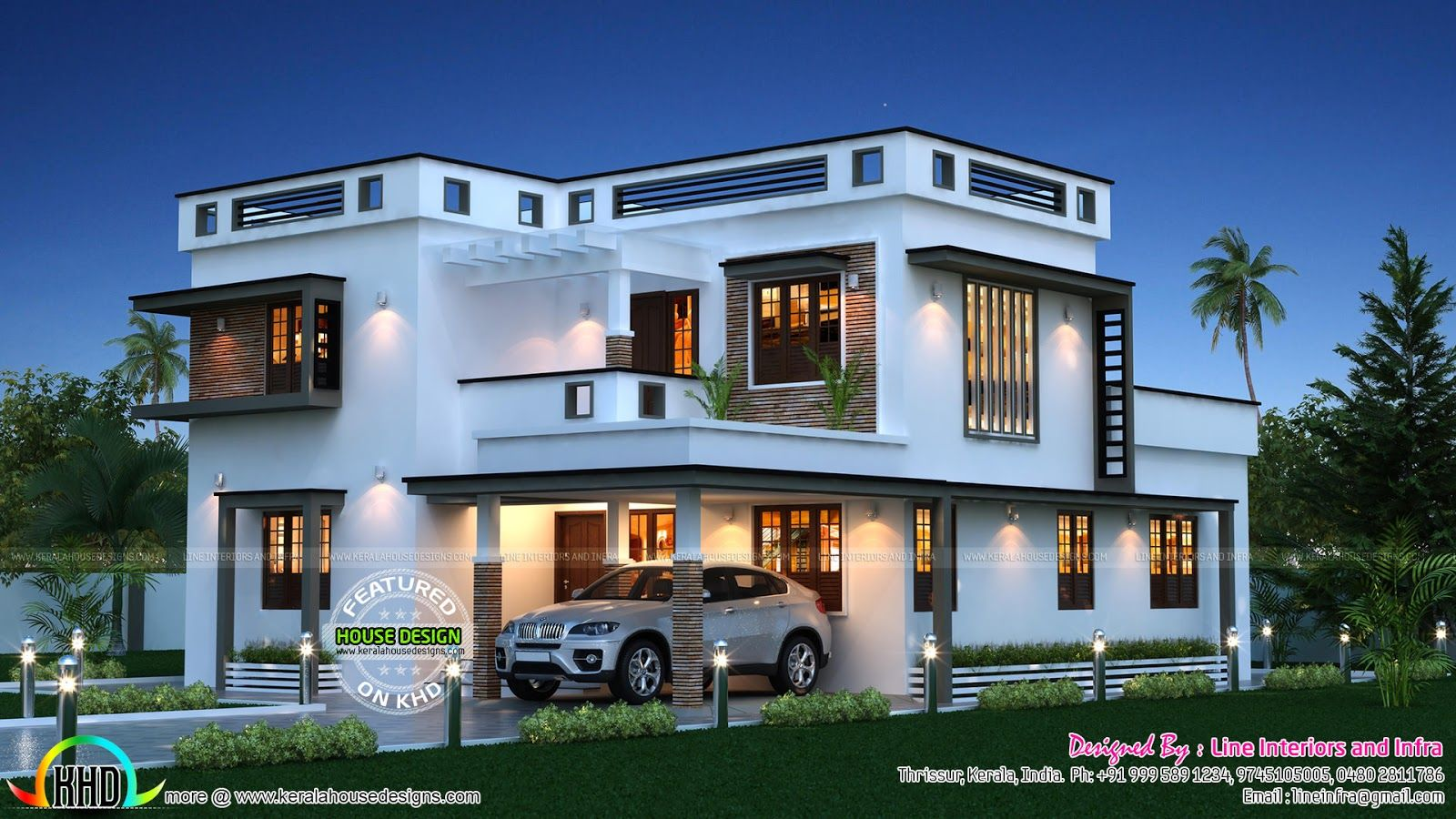 Beautiful 2500 Sq Ft House Plans India Gallery - 3D house designs ...